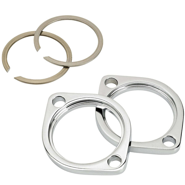 Exhaust Flange Kit H-D 1984-13 Big Twins and 1986-13 XL OEM 65328-83 and 65325-83