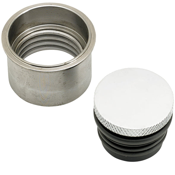Custom Small Flush Mount Pop-Up Gas Cap and Weld In Bung