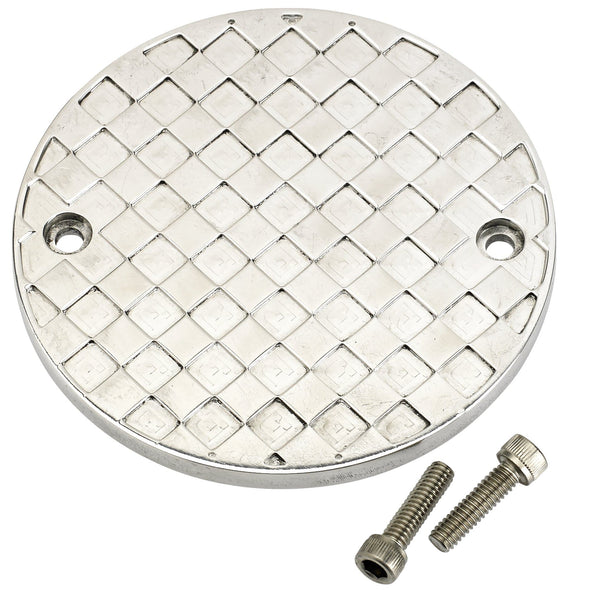 Checkered Past Timing Cover for Sportsters and pre-Twin Cam Big Twin Harleys