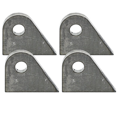 Tab #7 - Mild Steel Mounting Tabs 3/16 inch thick - 4 pack