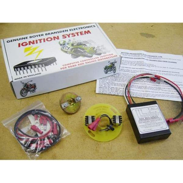 Electronic Ignition for Triumph and BSA Motorcycles 500 / 650 / 750 c.c.- Kit 00052