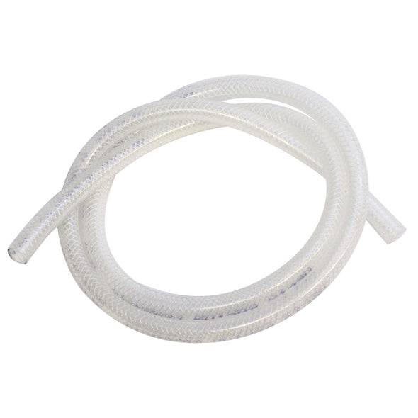 Cycle Standard Reinforced Translucent Fuel Line - Clear - 1/4 inch