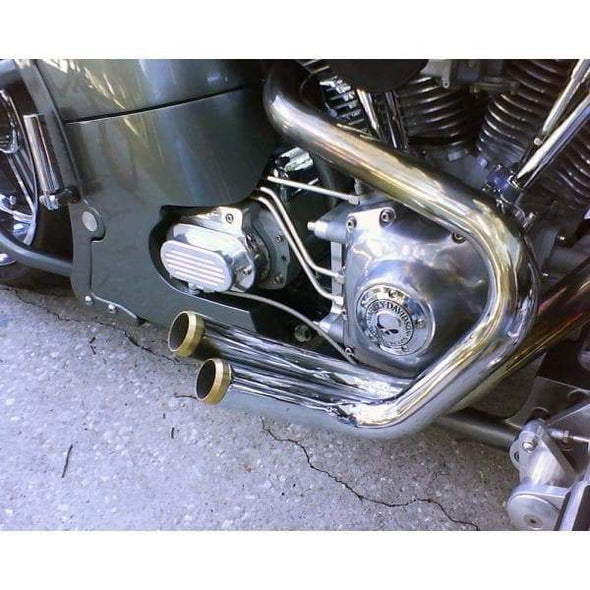 Brass Exhaust Tips for 1.75 inch OD pipes