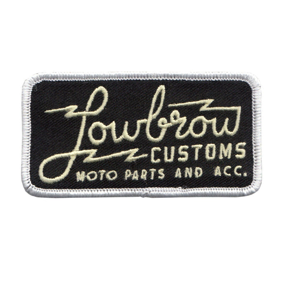 Lowbrow Customs Parts and Accessories Patch
