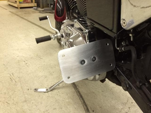 Primary Mount License Plate Bracket - 1967 - 2003 Sportsters
