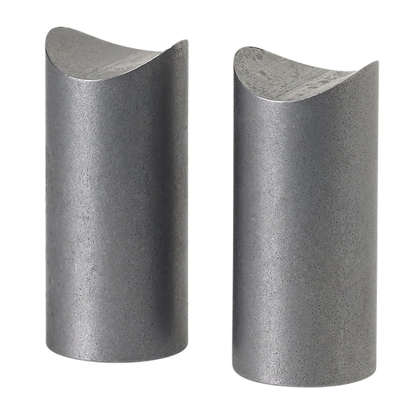 Coped Steel Bungs 1-1/2 inch long - 5/16-18 thread - 2 pack