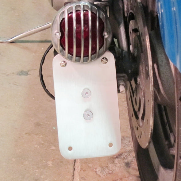 Model A Tail Light Mounting Bracket - Vertical License Plate