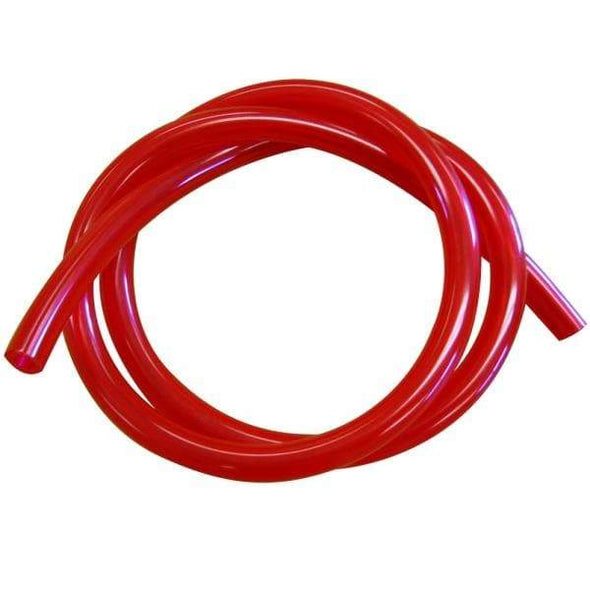 Translucent Fuel Line - Red - 1/4 inch ID