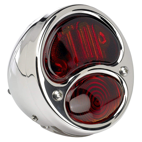 1928 - 1932 Ford Duolamp -Stop Lens- Model A stainless steel Tail Light for your bobber or chopper