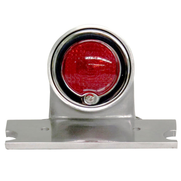 Sparto Polished Aluminum Tail Light - 12v