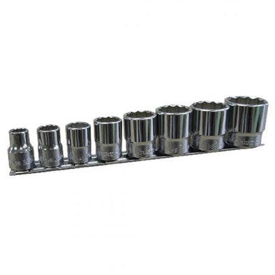 Whitworth 8 piece 12-pt Socket set by Koken 3/8 inch drive