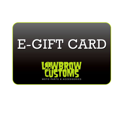 Lowbrow Customs Gift Card