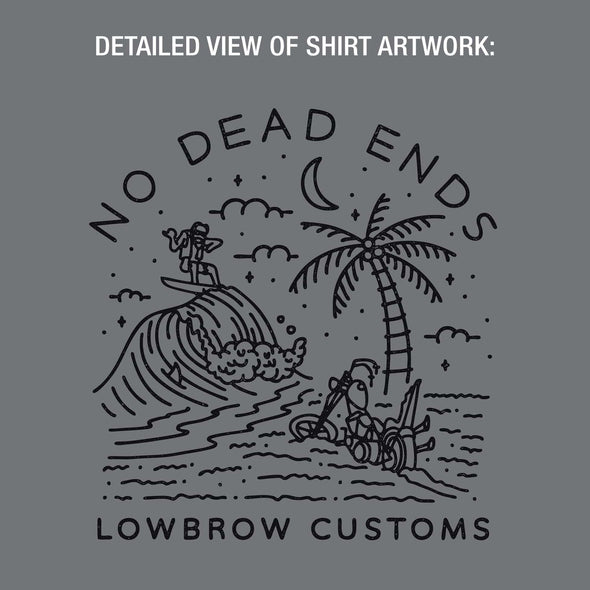 No Dead Ends Crew Neck Sweatshirt