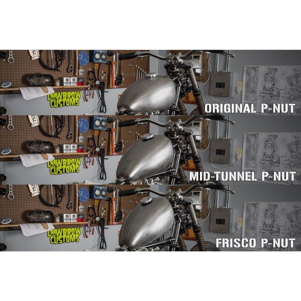 P-Nut Frisco Shallow Tunnel Gas Tank 2 gallon