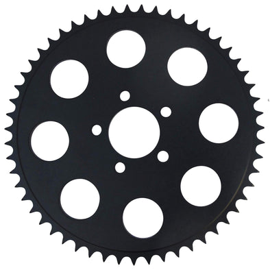 Replacement Chain Conversion Black Sprocket - 55 Tooth - Harley Sportster 2000-up Dyna 06-up