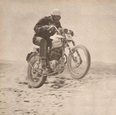 Here is a 1949 Tr5 in action. Lowbrow Customs, The History of Triumph Motorcycles