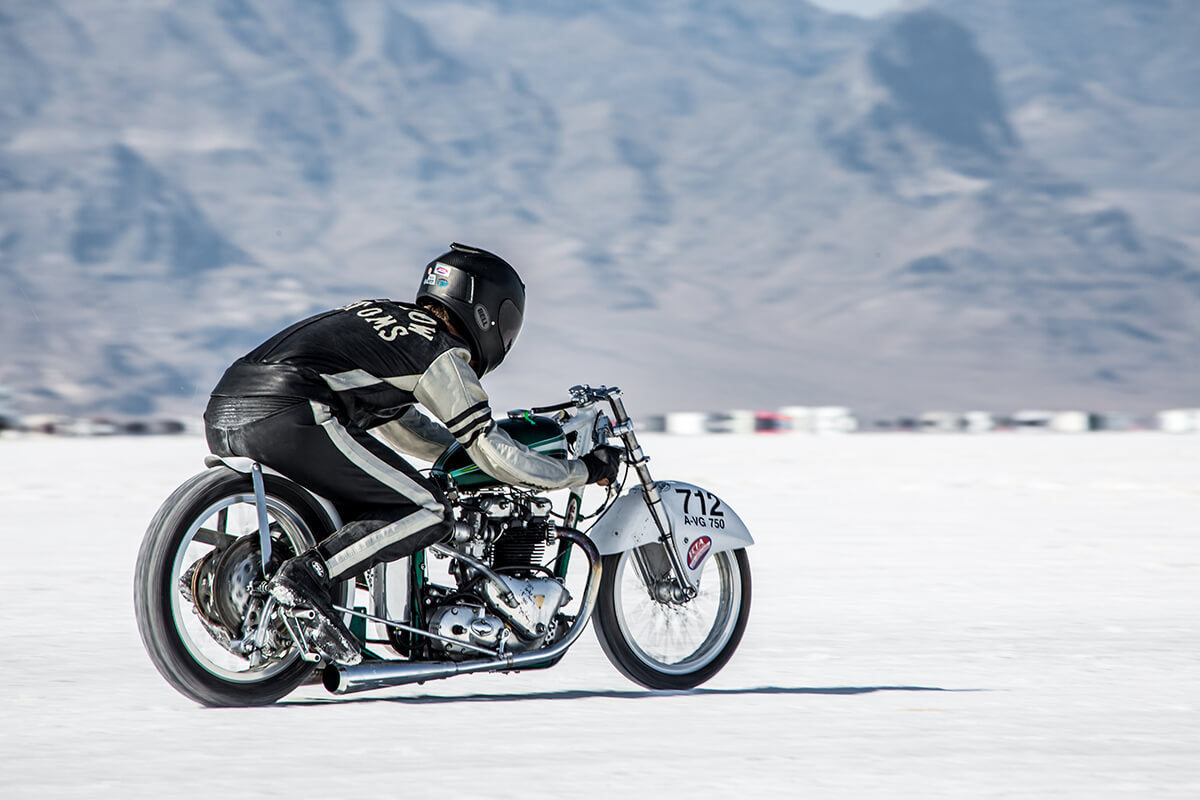 The final run of the day and sounded amazing but still didn't hit the number we wanted. - Bonneville Speed Week 2017 - Lowbrow Customs