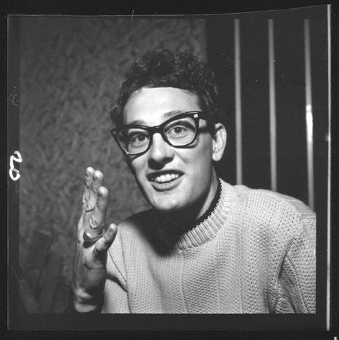 Buddy Holly a Rock-n-Roll legend in some people's eyes and an avid motorcycle lover. Famous motorcycle riders