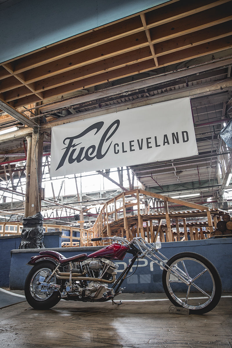 Ian Smith's Digger - Fuel Cleveland 2016