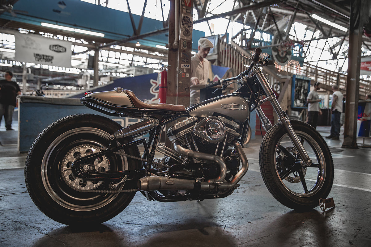 Jeremy Cupp of Lc Fabrication's unreal sportster - Fuel Cleveland