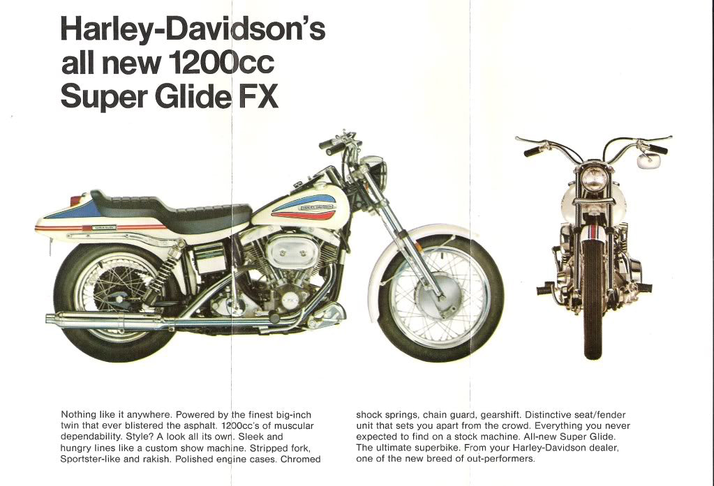 What happens in the AMF year for Harley Davidson?