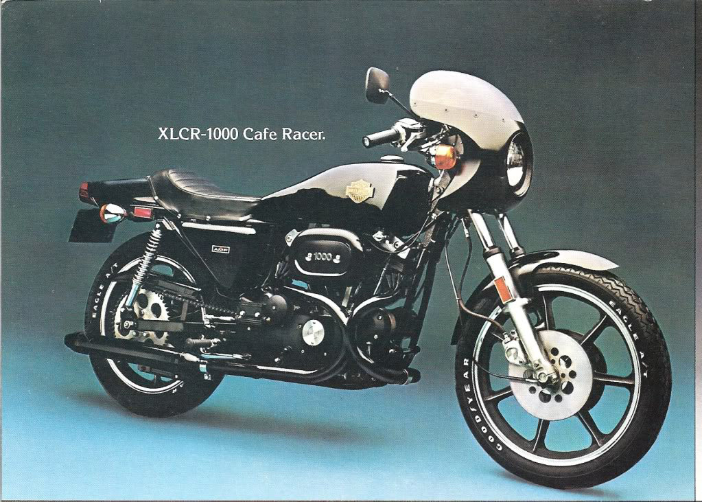 AMF Harley Davidson Motorcycles from 1973 to the end of 1981