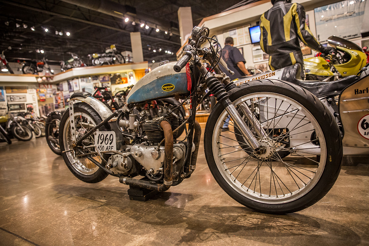 The Salt Ghost at The National Motorcycle Museum in Anamosa, IA. Lowbrow-Customs---Cross-Country-2016