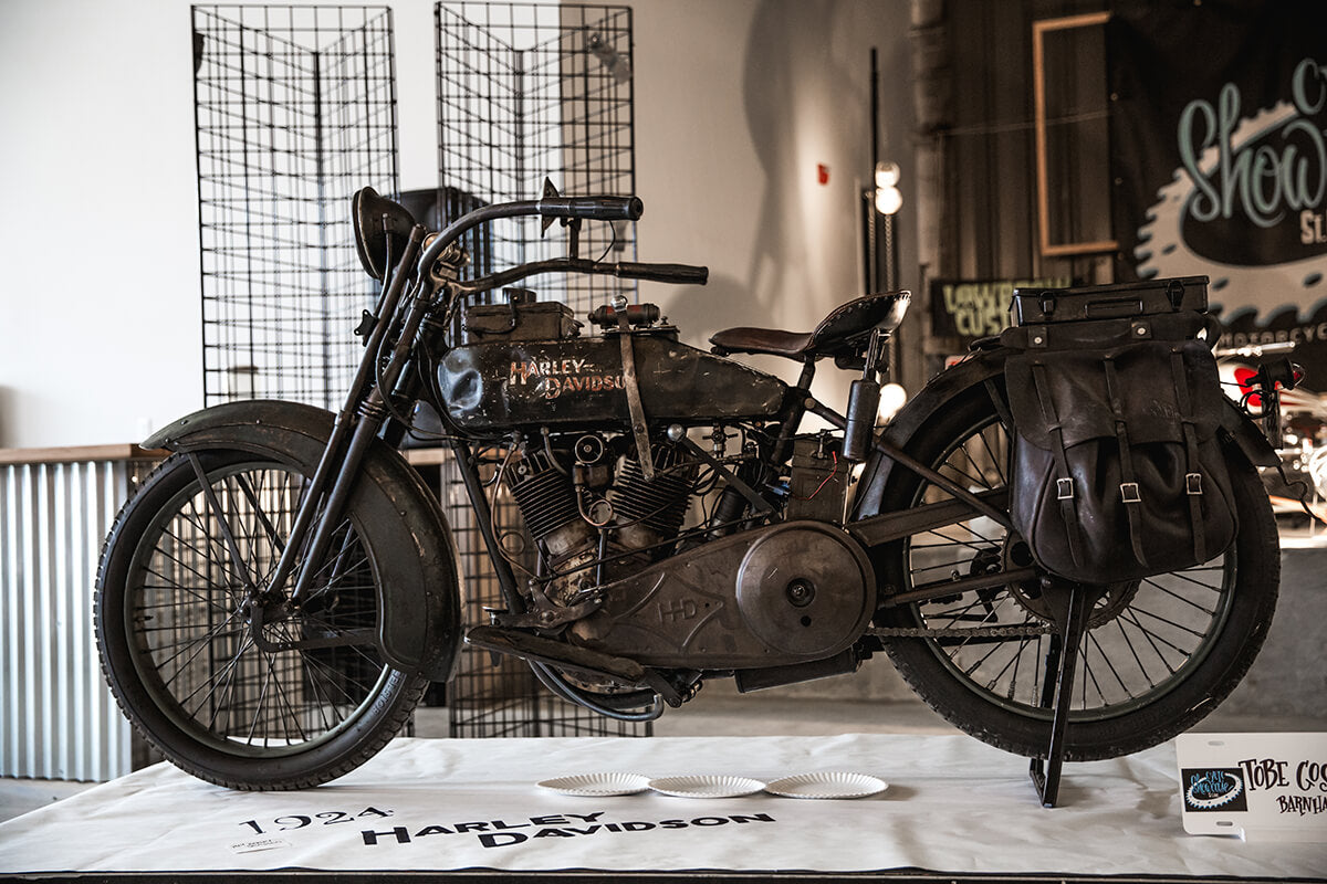 This 1924 Harley had so much character, and I wish it could talk to tell me stories. I kept coming back to it time and time again. - Lowbrow Customs - Cycle Showcase 2017 - St. Louis