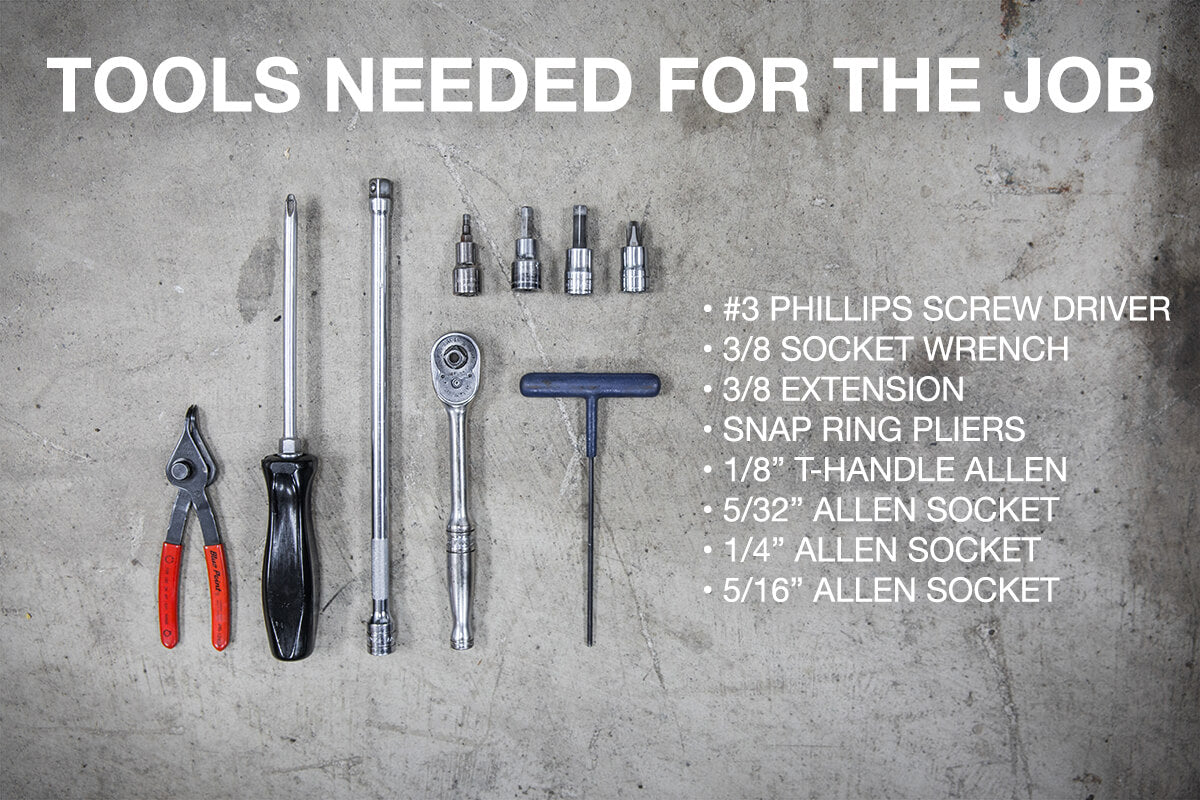 Tools needed for the job!