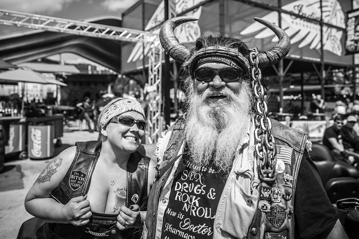 I will say the People watching is a blast at Sturgis! -Lowbrow Customs - Sturgis 2017