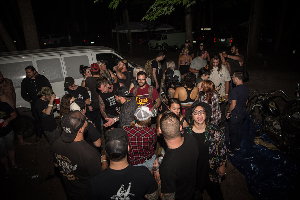 So many people partying in the best camp spot! Lowbrow Getdown 2016