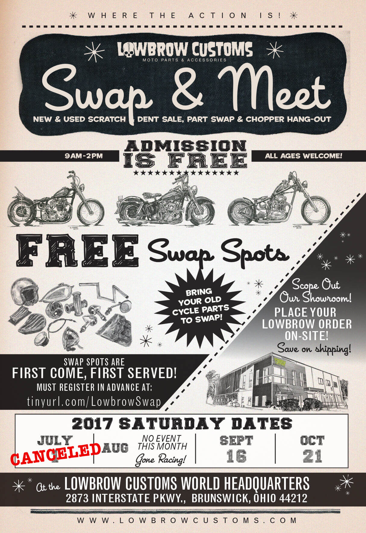 Lowbrow Customs Swap & Meet 2017-1