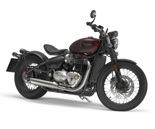 """Triumph's latest release to the market the """"Triumph Bobber"""". Taking roots from the T120 and custom stylings this 1200cc motor has the classic style with modern features. Lowbrow Customs, The History of Triumph Motorcycles"""