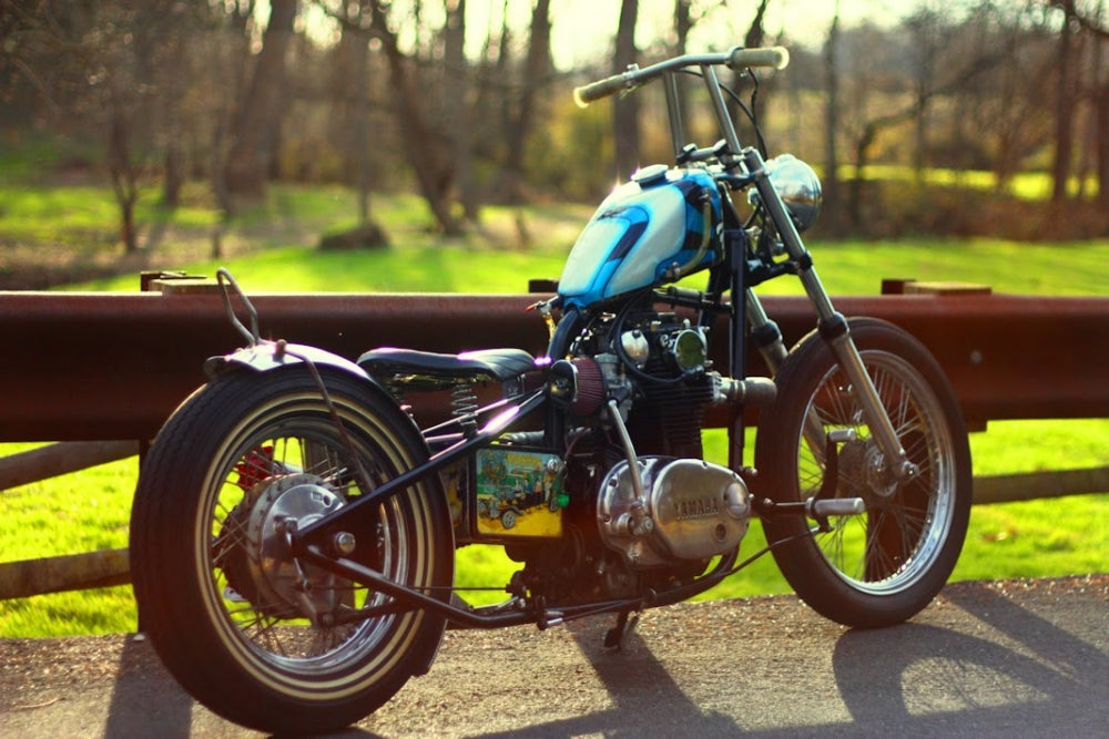 yamaha xs650 chopper-Lowbrow Spotlight: Adam and His Brother's XS650 & Triumph Choppers4