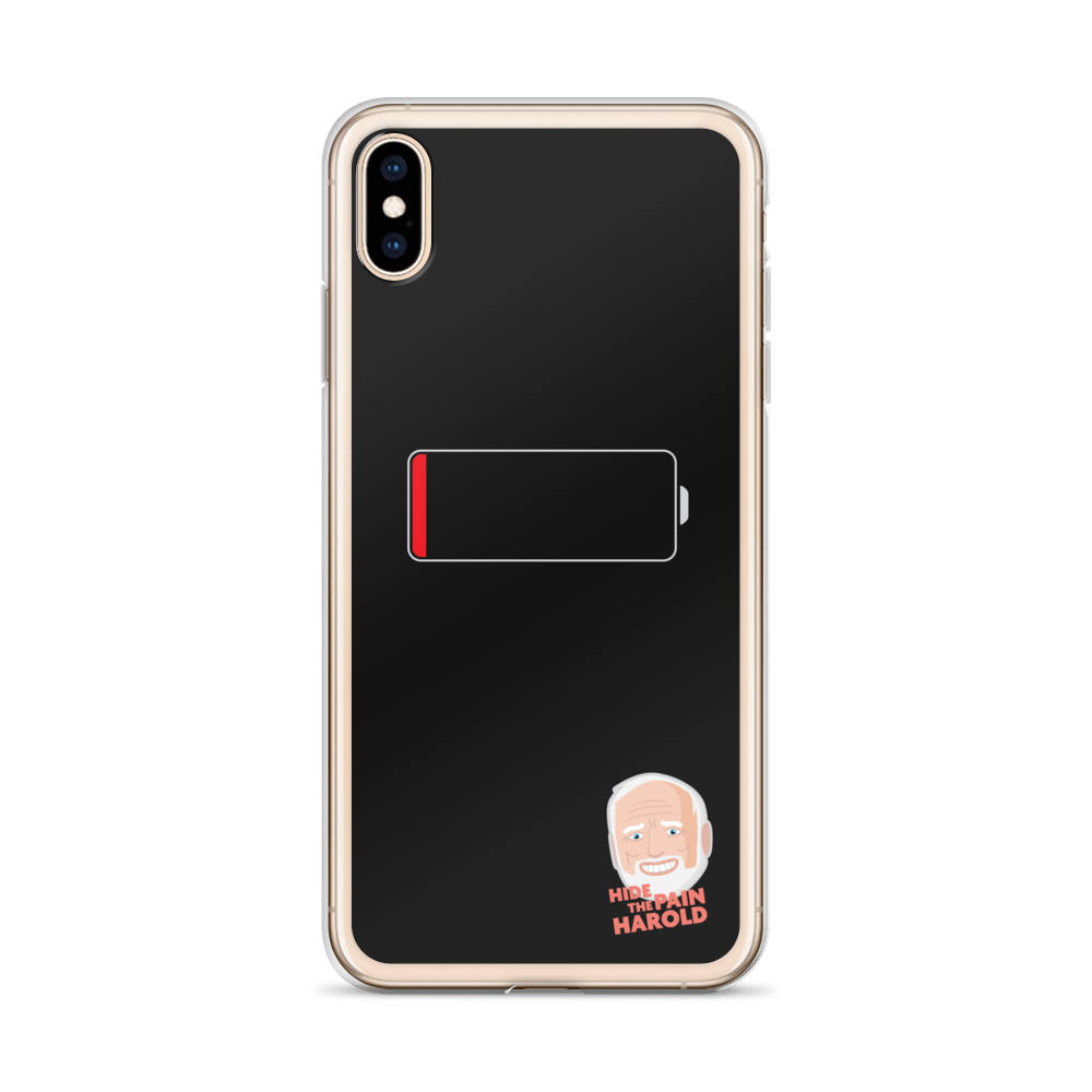 Low battery iPhone Case