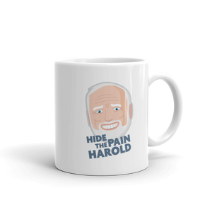 Hide the Pain mug
