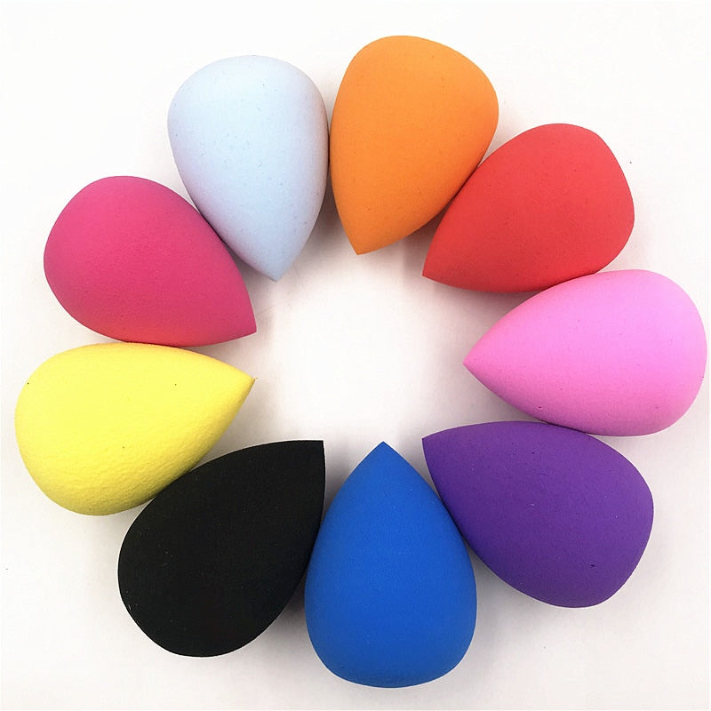 1-Piece Tear Drop Beauty Sponge (Multi-Color)