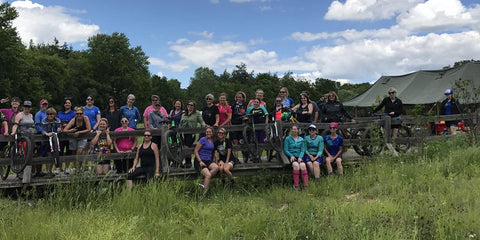 Dirty Jane Supporting Women on Wheels Mountain Bike Camp