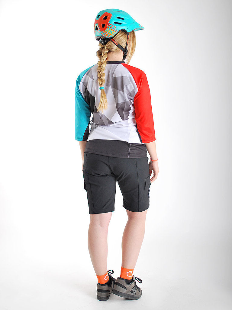 Adrenaline 3/4 Sleeve MTB Jersey by Chicken Line