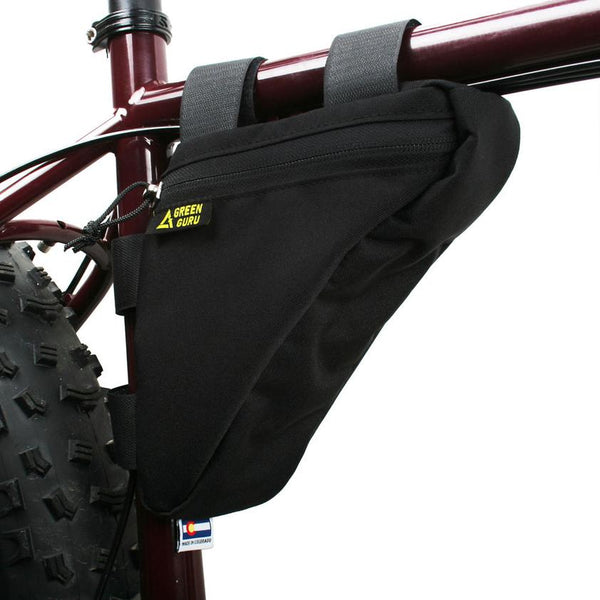 Gripster Frame Bag- Black by Green Guru