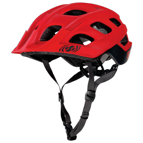 Trail XC Helmet - Red by IXS