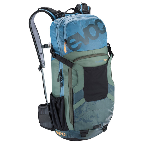 FR Enduro TEAM 16l - Copen Blue/Olive Slate by EVOC