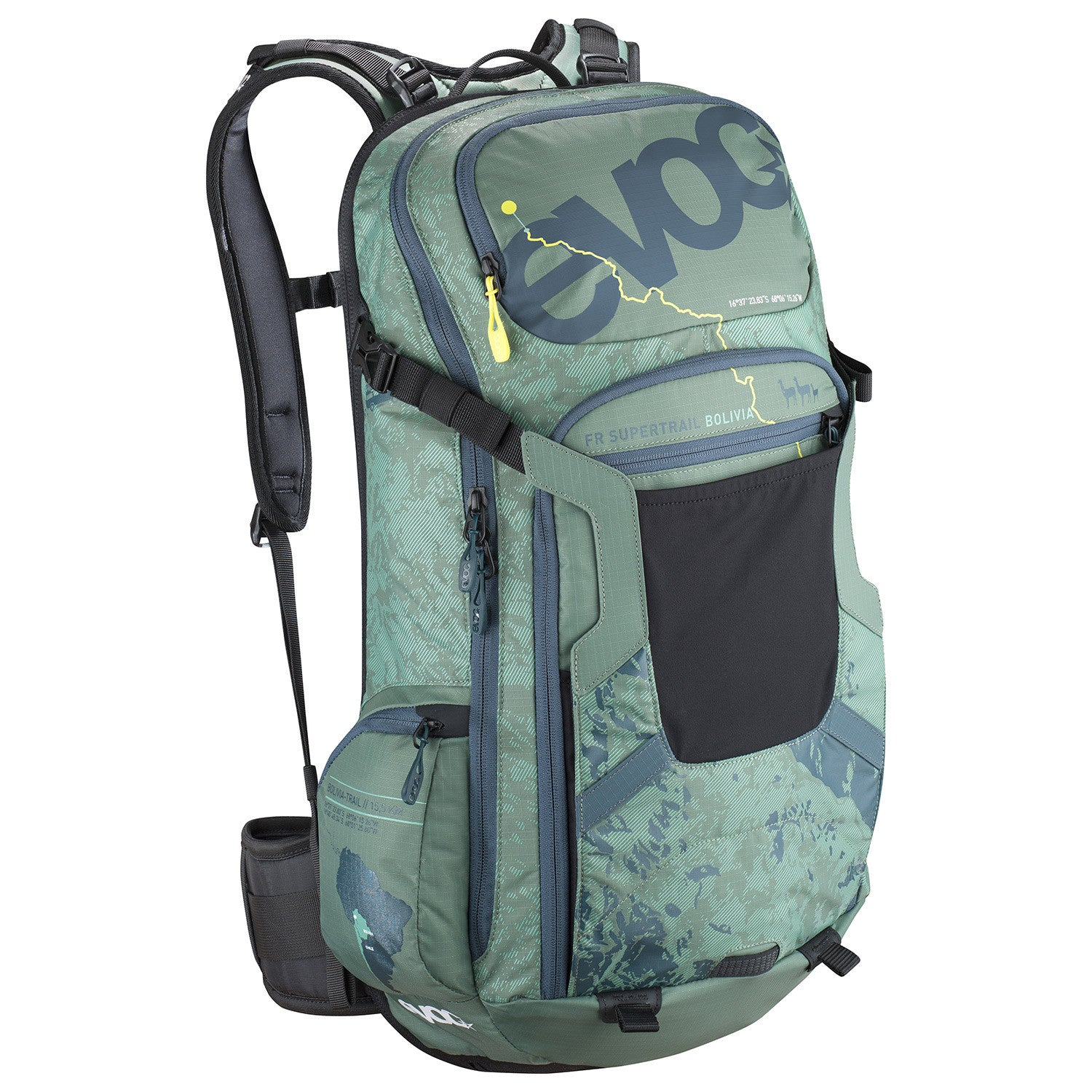 FR Supertrail BOLIVIA 20l - Olive by EVOC
