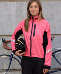 Women's Elite 2.1 Jacket - Electric Pink by Showers Pass