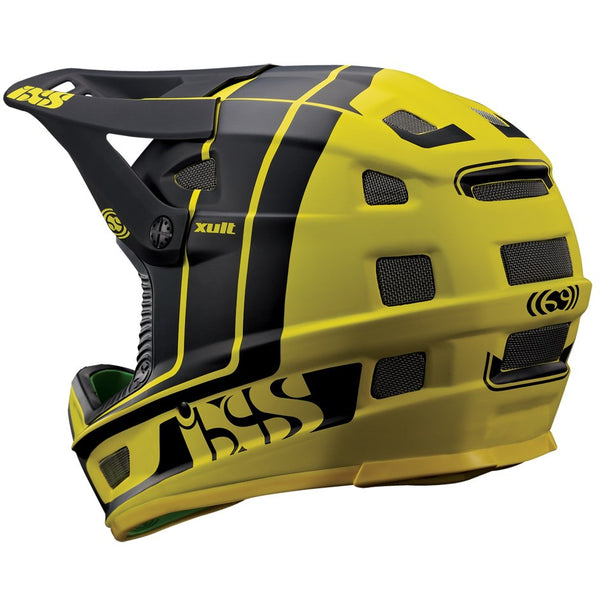 XULT Full Face Helmet - Yellow/Black by IXS