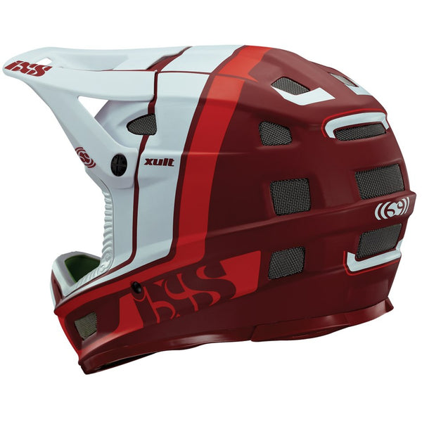 XULT Full Face Helmet - Red/White by IXS
