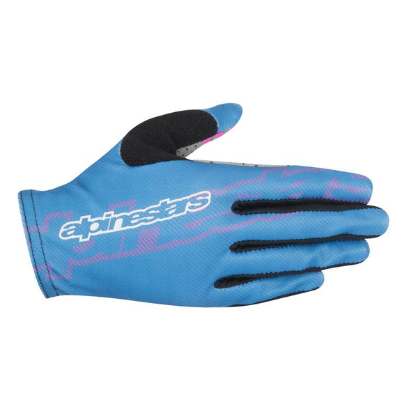 Stella F-Lite Glove - Nepal Blue Raspberry Rose by Alpinestars