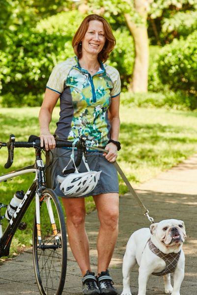 Canopy Short Sleeve Cycling Jersey by Sassy Cyclist