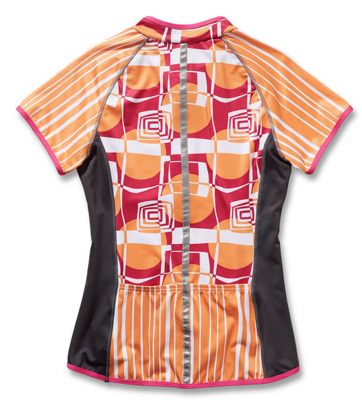 Pedal Beat Short Sleeve Cycling Jersey by Sassy Cyclist