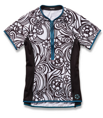 Lady Luck Short Sleeve Cycling Jersey by Sassy Cyclist